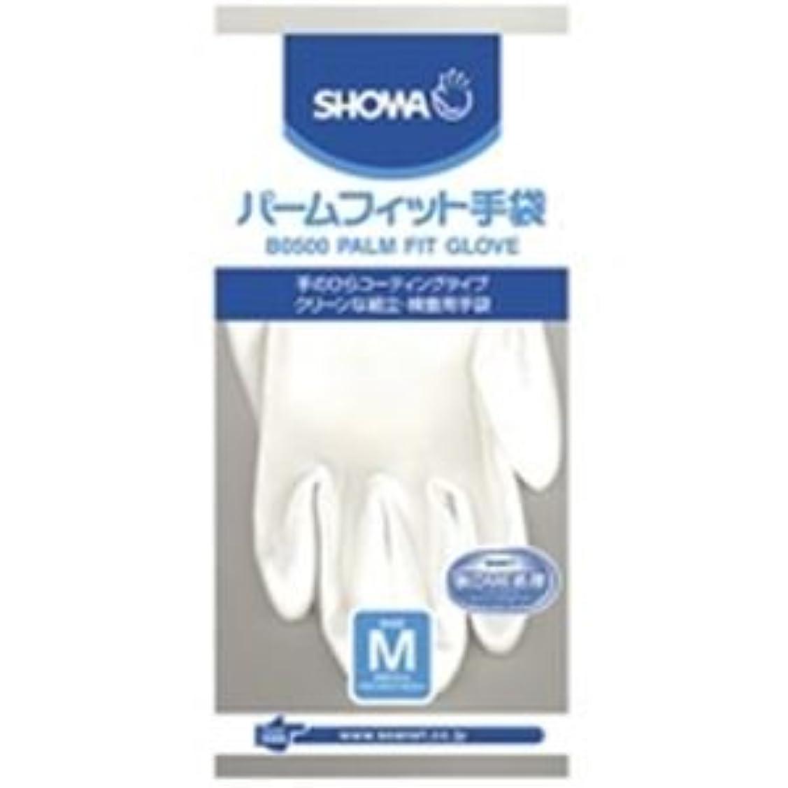 逮捕感嘆アドバイス(業務用10セット)ショーワ パームフィット手袋 B0500 M 白 ds-1464761