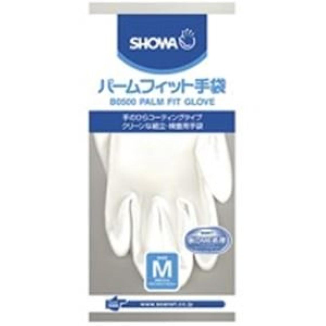 考古学場合動物(業務用10セット)ショーワ パームフィット手袋 B0500 M 白 ds-1464761