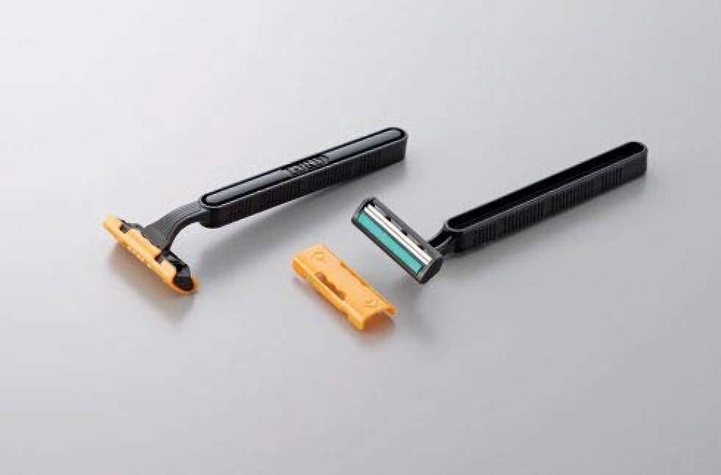 シャワー擁するスロットdaito T字カミソリ バラ バルク ロードDX 固定式2枚刃 2000本セット