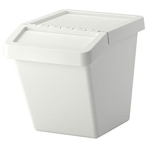 RoomClip商品情報 - IKEA(イケア) SORTERA 分別ゴミ箱 ふた付 ホワイト