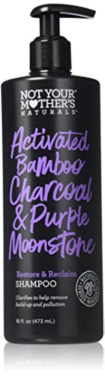 人工飛ぶ冒険者NOT YOUR MOTHER'S Activated Bamboo Charcoal & Purple Moonstone Shampoo, 16 FZ 141[並行輸入]
