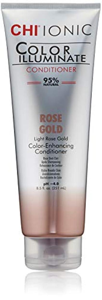 裸台無しに追加Ionic Color Illuminate - Rose Gold Conditioner