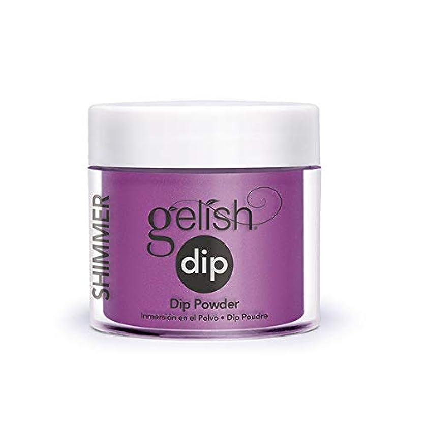 未亡人モザイク明示的にHarmony Gelish - Acrylic Dip Powder - Berry Buttoned Up - 23g / 0.8oz