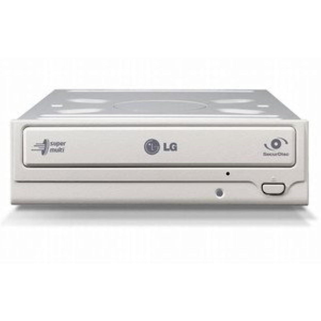 戸口ダースエンドウKEIAN LG電子 S-ATA 内蔵スーパーマルチドライブ ホワイトベゼル&ソフト付 GH24NS70 WH BLK