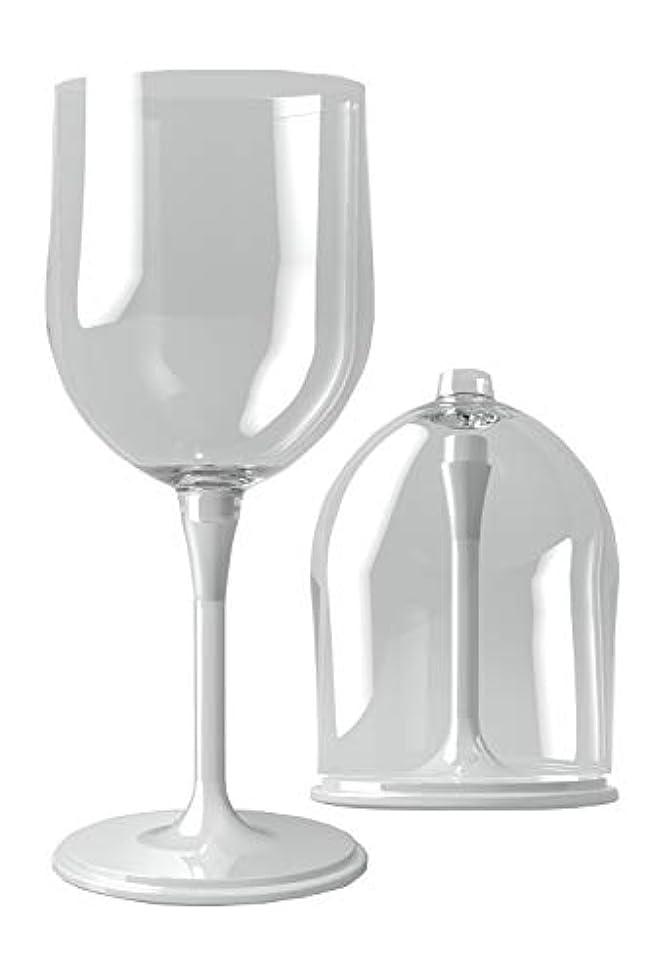 機会キャリア周り(リッチェ) Ricce 組立式 ポータブル ワイングラス ペア 収納ケース付き アウトドア キャンプ 割れない お祝い ギフト