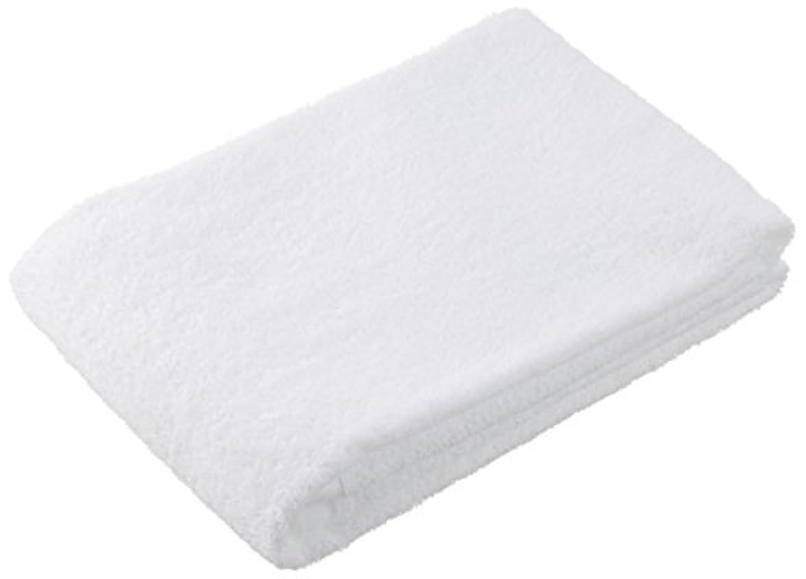 効率的に歌手化合物キヨタ 抗菌バスタオル ホワイト H-070