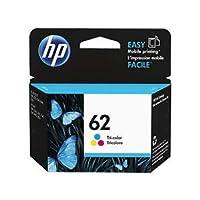 (まとめ)HP HP62 インクカートリッジカラー C2P06AA 1個 【×3セット】