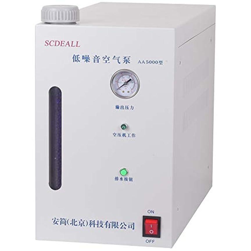 イル赤道ピンクAA5000 Purity Air Generator, Low Noise Air Pump 0-5000ml / min
