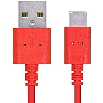エレコム USB TYPE C ケーブル (USB A-USB C) 3A出力で超急速充電 USB2.0 正規認証品 タイプC 0.3m レッド MPA-ACXCL03NRD