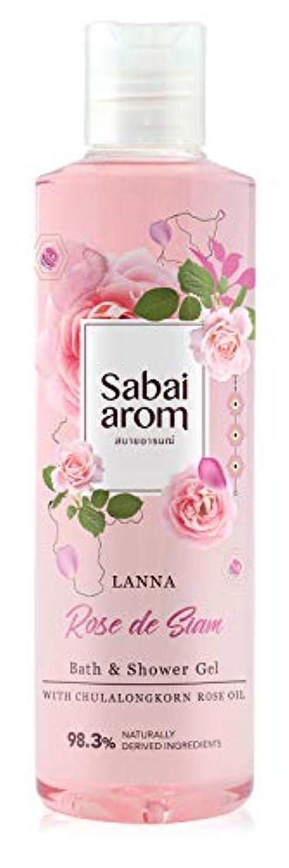 するだろうタイピストラジウムサバイアロム(Sabai-arom) ランナー ローズ デ サイアム バス&シャワージェル (ボディウォッシュ) 250mL【ROS】【002】
