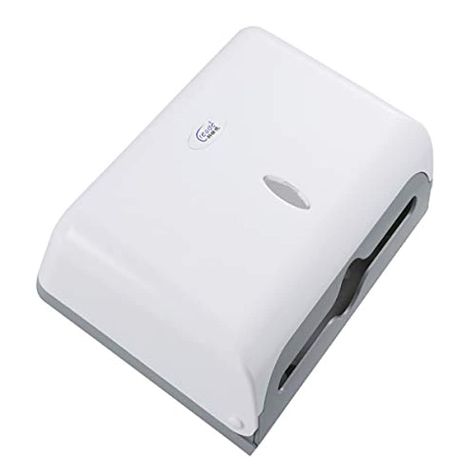写真の答え貫通するTOPBATHY 浴室の壁に取り付けられたティッシュディスペンサーのティッシュ箱のティッシュのホールダーの大容量の固体ペーパータオルの容器ティッシュの容器のトイレットペーパーのホールダー