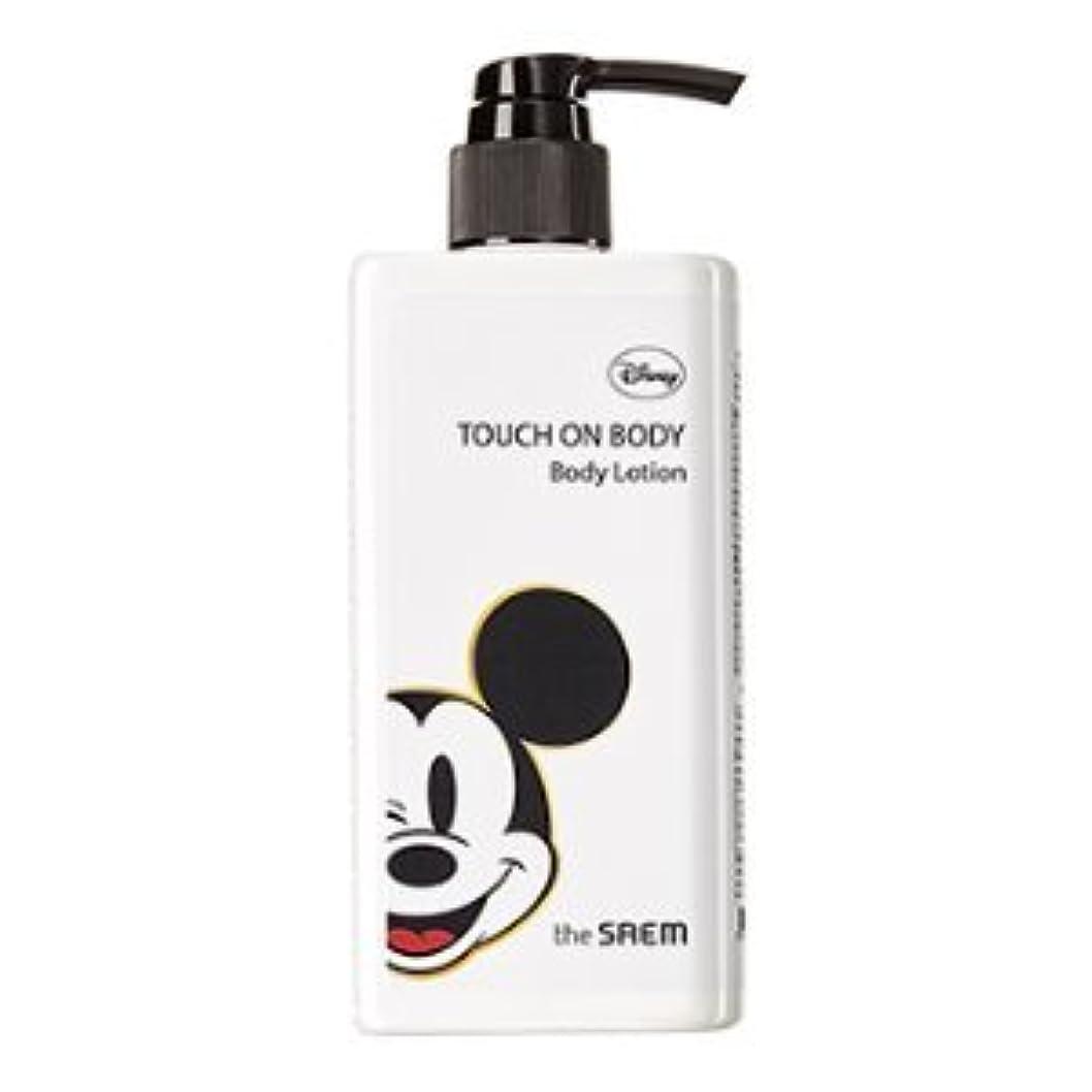 カプラー爪媒染剤(The Saem X Disney)Touch On Body Acerola Body Lotion 300ml / ザセム タッチオンボディーアセロラボディーローション (ディズニーエディション) [並行輸入品]