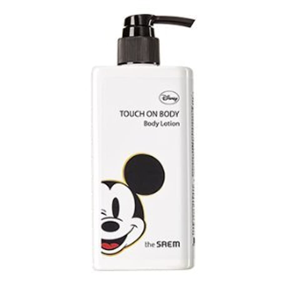 配当石膏守銭奴(The Saem X Disney )Touch On Body Acerola Body Lotion 300ml / ザセム タッチオンボディーアセロラボディーローション (ディズニーエディション) [並行輸入品]
