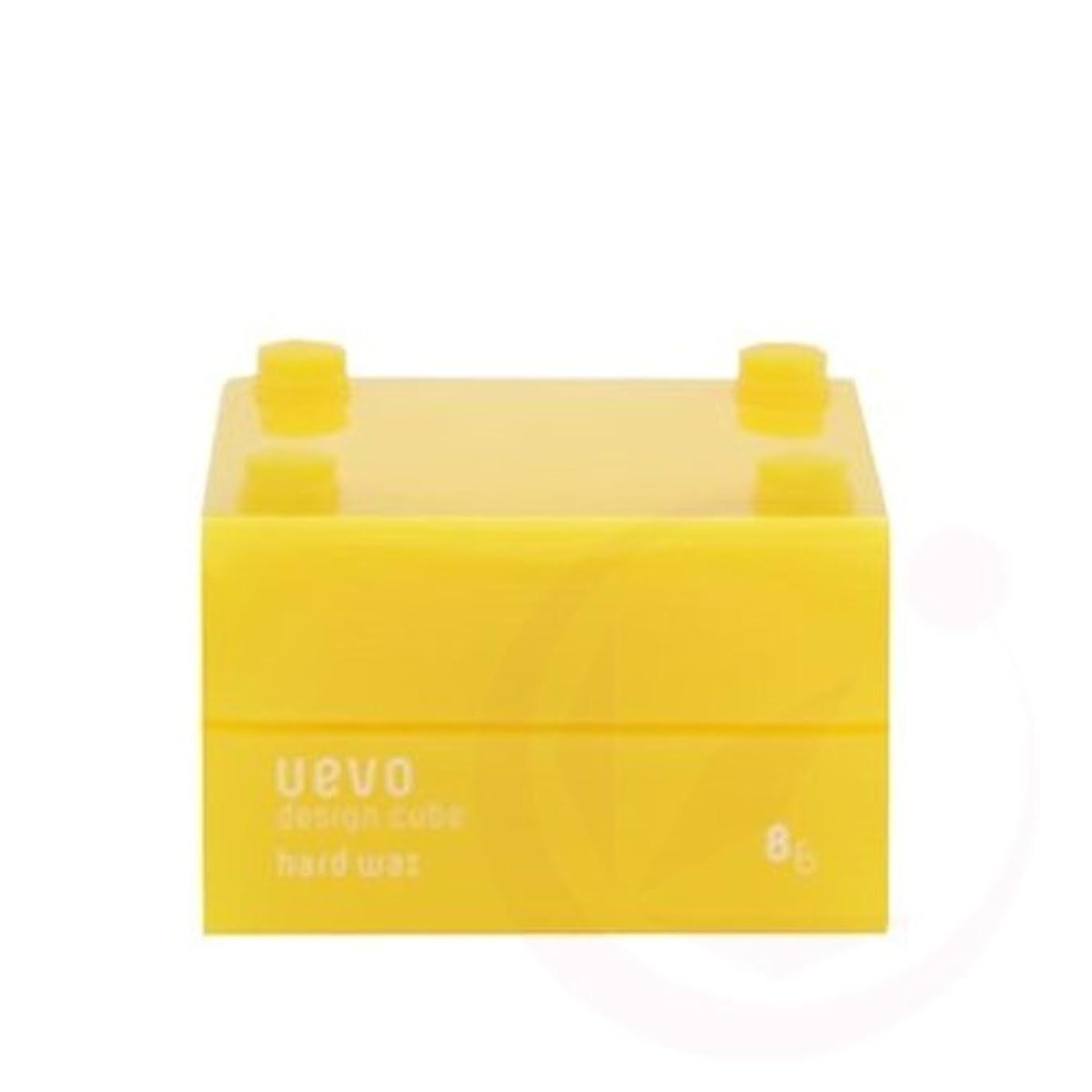 ツール内向き骨折【デミコスメティクス】ウェーボ デザインキューブ ハードワックス 30g