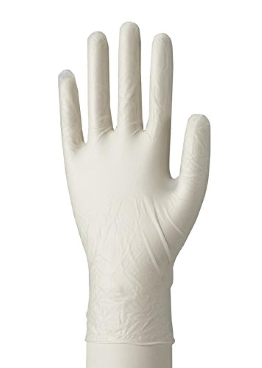 異なるアイドル広大な使い捨て手袋 マイスコPVCグローブ 粉つき MY-7520(サイズ:L)100枚入り 病院採用商品