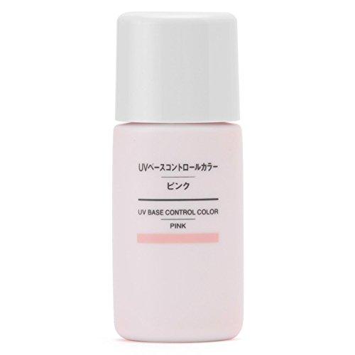 無印良品 UVベースコントロールカラー・ピンク SPF50+・PA+++ 30ml