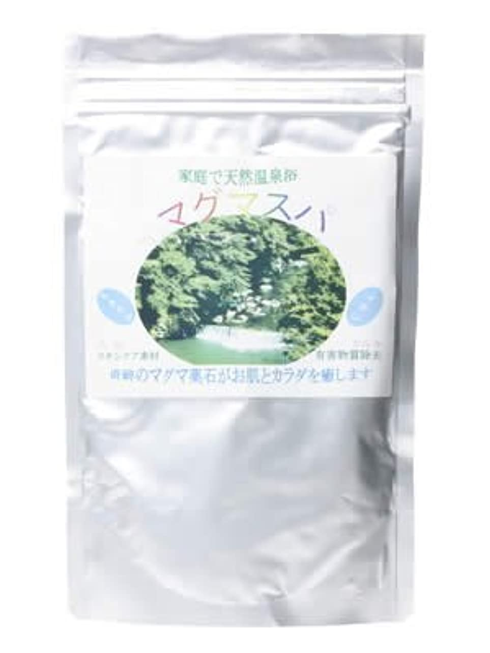 固体優しい音楽天然薬石入浴剤マグマスパ 360g