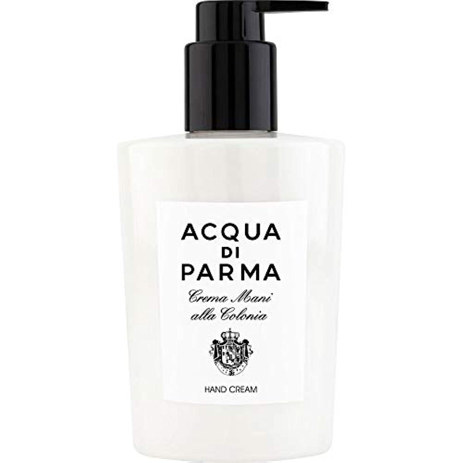 置くためにパックそばにマザーランド[Acqua di Parma] アクアディパルマコロニアのハンドクリーム300ミリリットル - Acqua di Parma Colonia Hand Cream 300ml [並行輸入品]