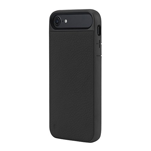 Incase Icon II Pebbled Leather Case for iPhone 7 (Black - INPH170159-BLK) [並行輸入品]