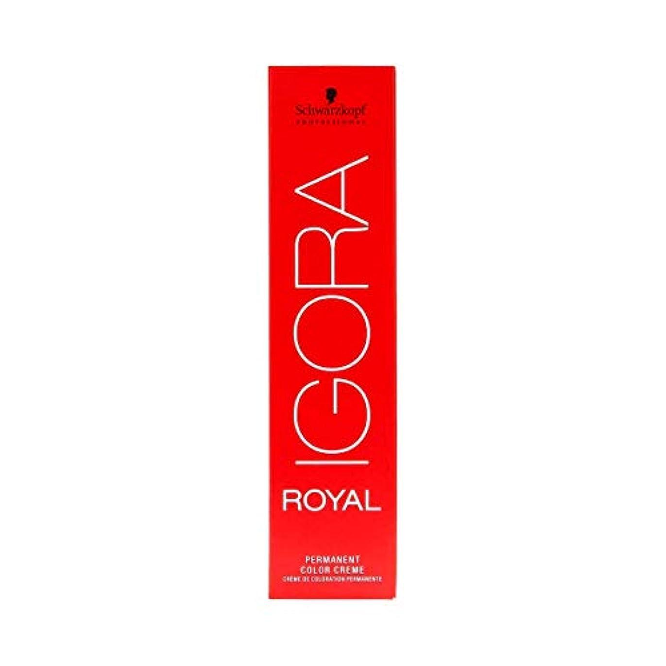 リラックス適応する混合シュワルツコフ IGORA ロイヤル8-65パーマネントカラークリーム60ml[海外直送品] [並行輸入品]