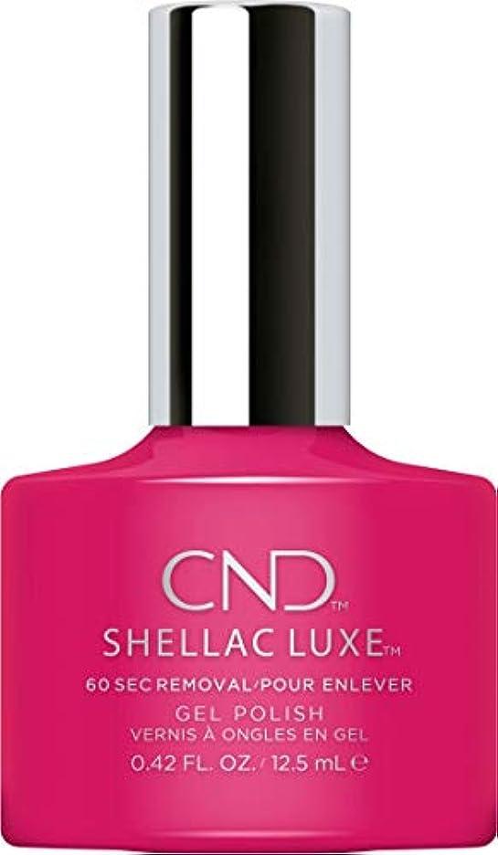 黄ばむ大工予想外CND Shellac Luxe - Pink Leggings - 12.5 ml / 0.42 oz