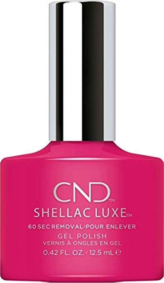 体接尾辞飢CND Shellac Luxe - Pink Leggings - 12.5 ml / 0.42 oz