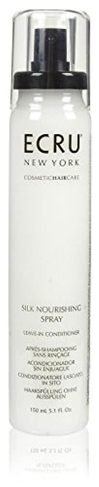 仮定する安心させる会員ECRU New York シルク栄養スプレー、5.1液量オンス 5.1オンス