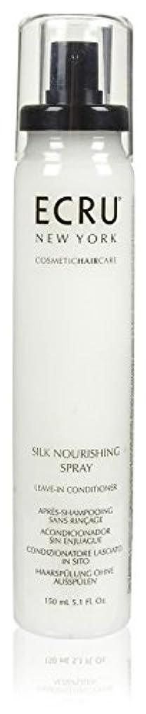 ブラウザ歩行者批判ECRU New York シルク栄養スプレー、5.1液量オンス 5.1オンス