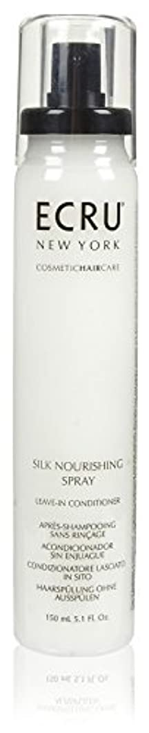 不確実においスキームECRU New York シルク栄養スプレー、5.1液量オンス 5.1オンス