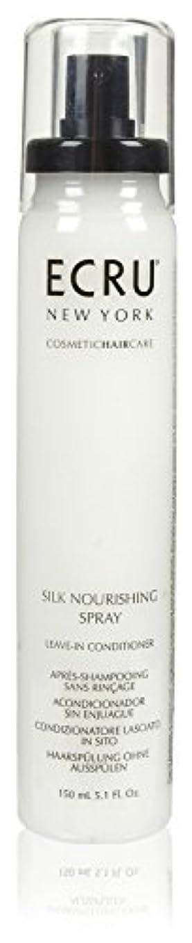 ECRU New York シルク栄養スプレー、5.1液量オンス 5.1オンス