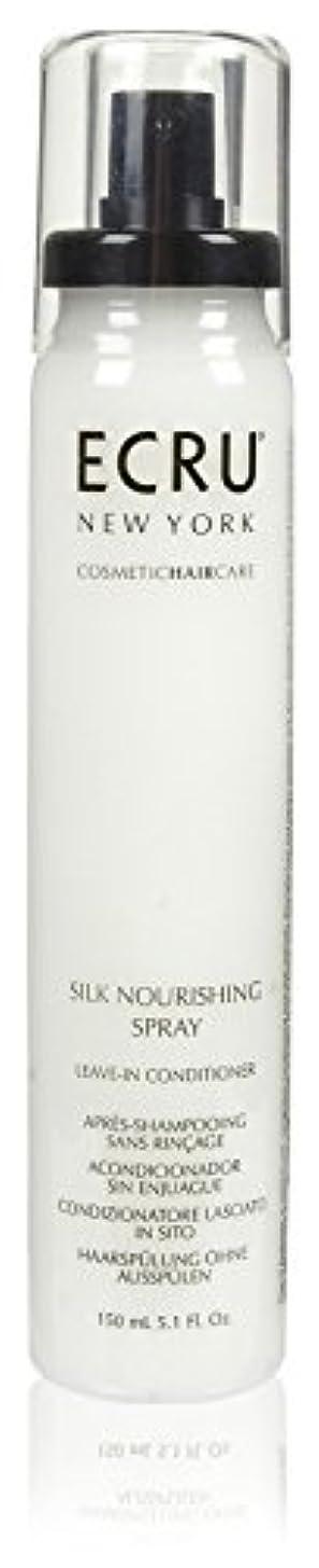 マウンド余計な冒険ECRU New York シルク栄養スプレー、5.1液量オンス 5.1オンス