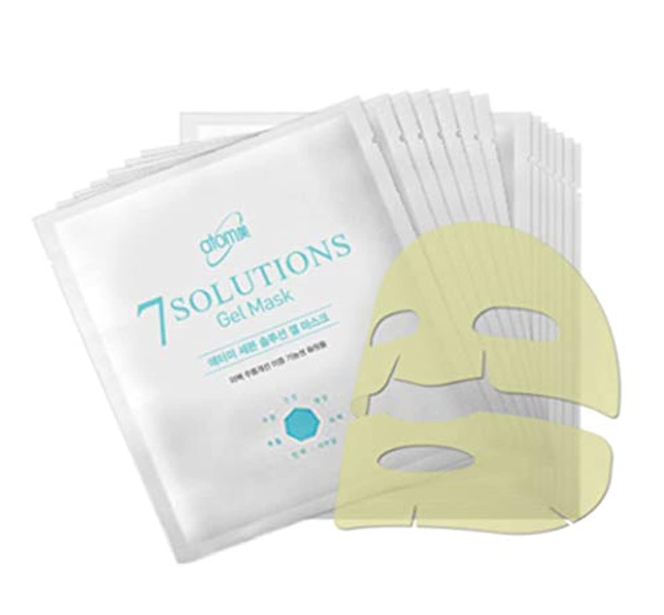 嘆願アーティファクト頭蓋骨Atomy アトミ 7 solution Gel Mask 25g X 14ea美白シワ改善二重機能性化粧品(並行輸入品)