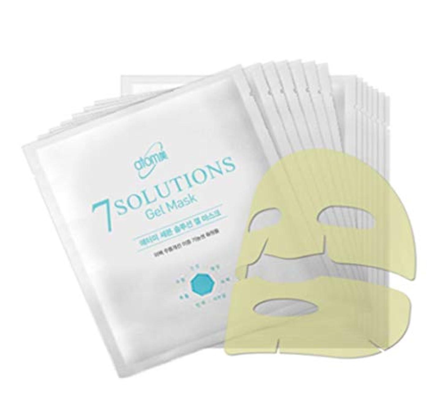 帳面もっと少なく剃るAtomy アトミ 7 solution Gel Mask 25g X 14ea美白シワ改善二重機能性化粧品(並行輸入品)