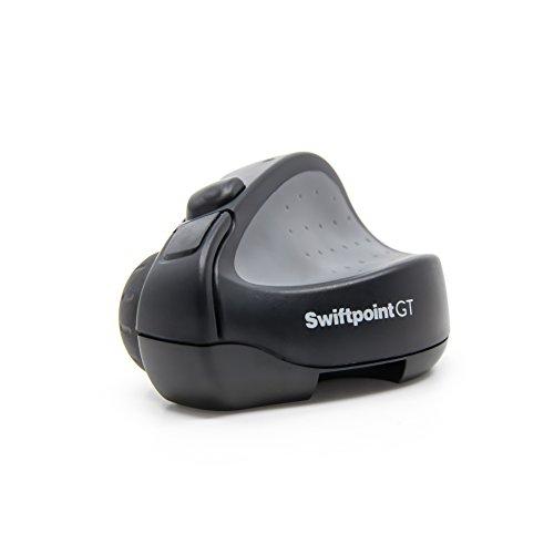 Swiftpoint GT 小型ワイヤレスBluetoothマウス タッチジ...
