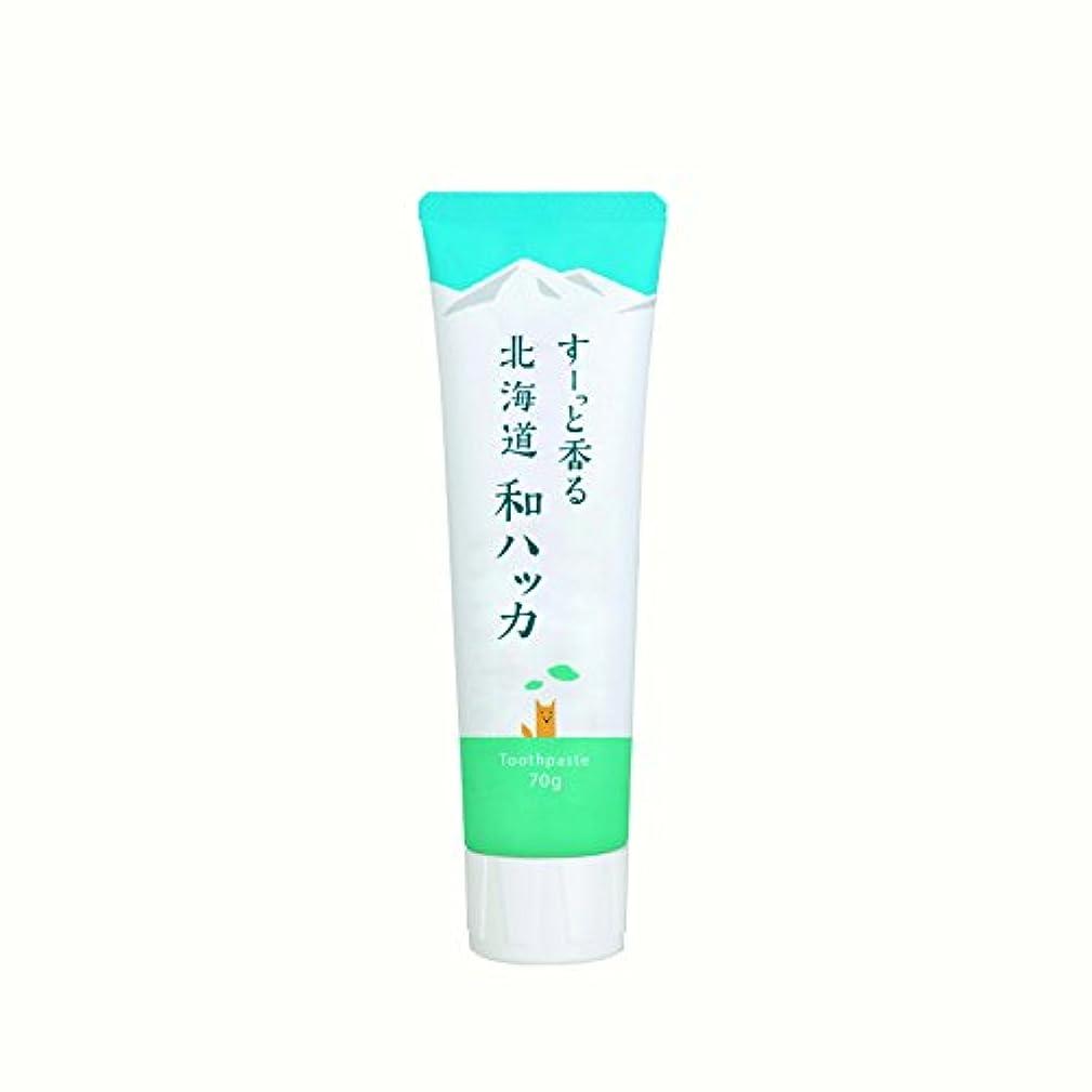 (美健)BIKEN ハッカ歯磨き粉 すーっと香る北海道和ハッカ