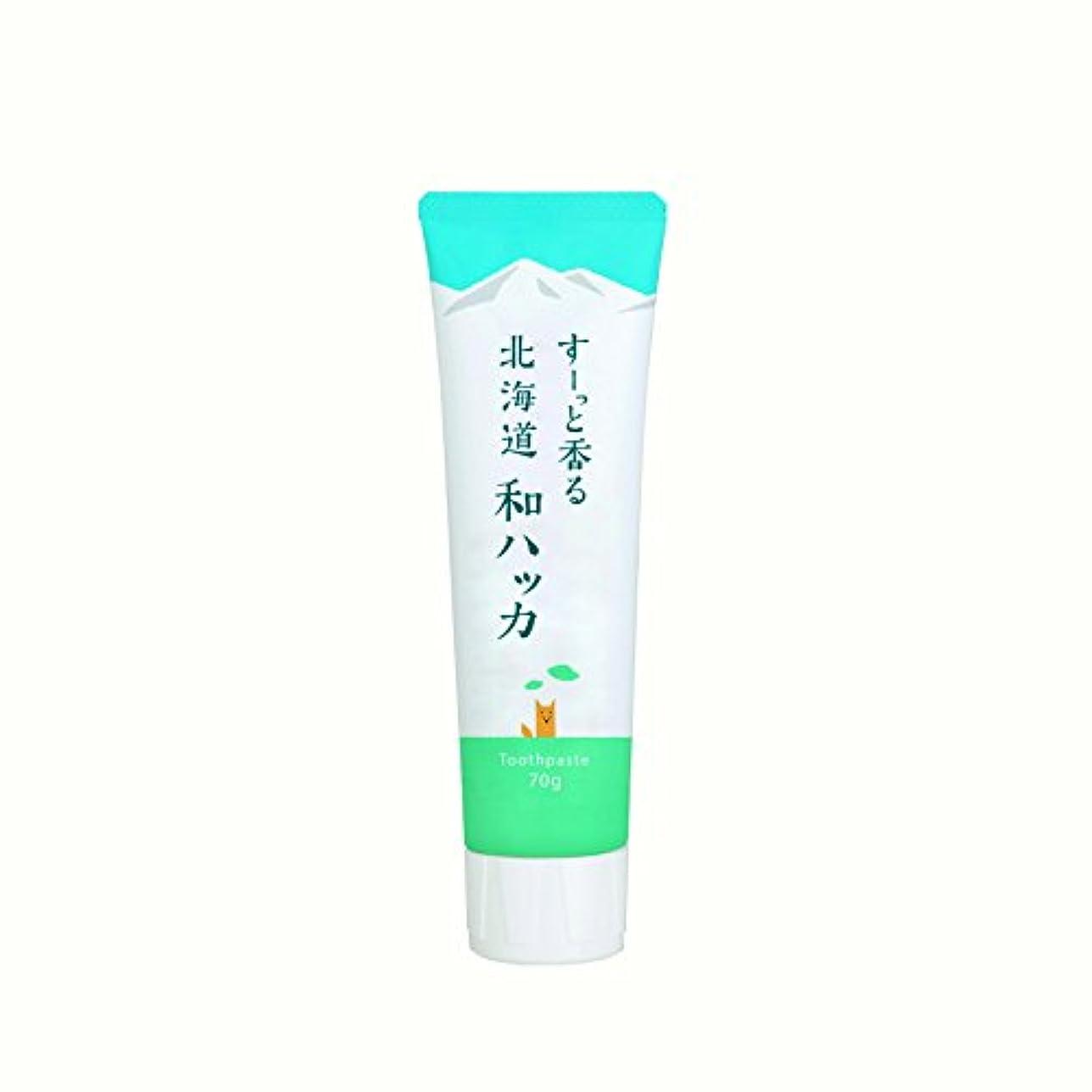 ぴったりニッケル収穫(美健)BIKEN ハッカ歯磨き粉 すーっと香る北海道和ハッカ