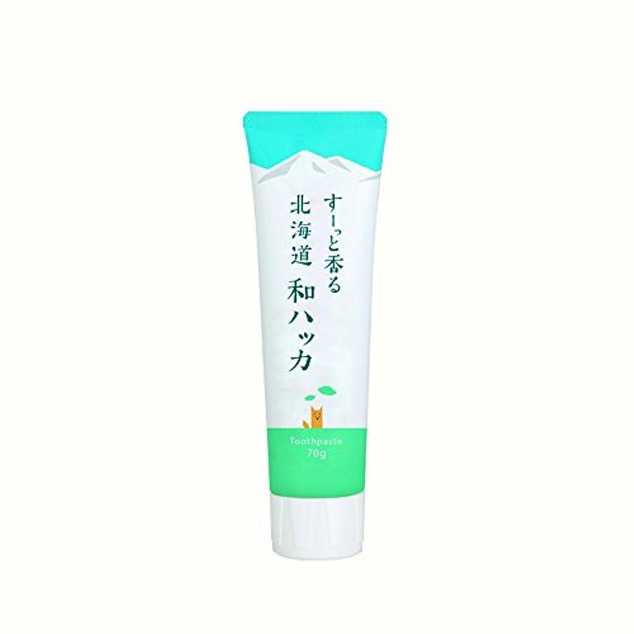 ジェット飾り羽健康的(美健)BIKEN ハッカ歯磨き粉 すーっと香る北海道和ハッカ