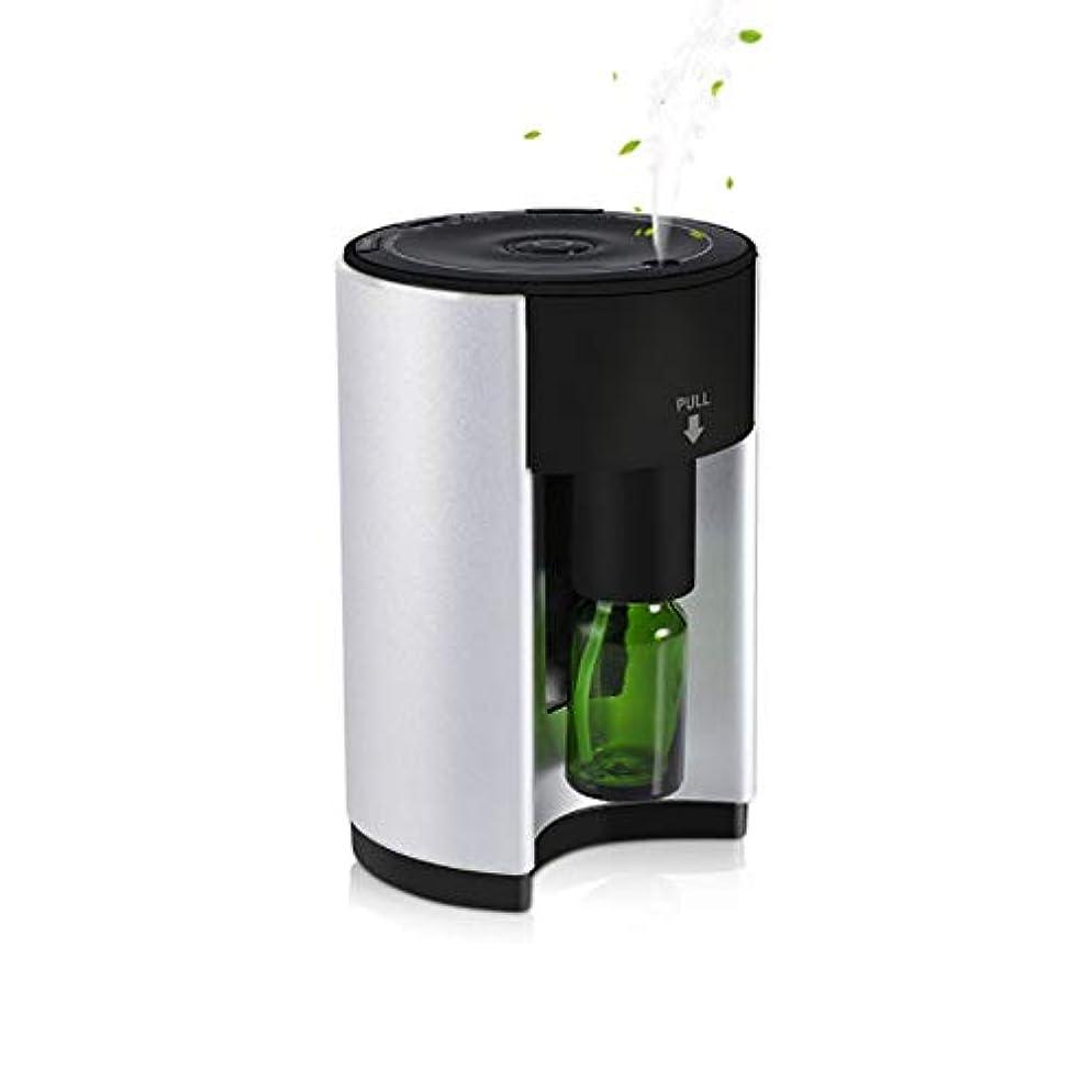 半球氷パンアロマバーナー アロマ芳香器 アロマディフューザー ネブライザー式 ヨガ室 ホテル 人気 香り 小型 コンパクト 軽量 アロマオイル うるおい 専用ボトル付 タイマー付き 広範囲適用