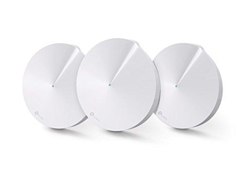 TP-Link WiFi 無線LANルーター ウィルス対策 セキュリティ 3ユニットセット 11ac オールカバーホームWi-Fiシステム Deco M5