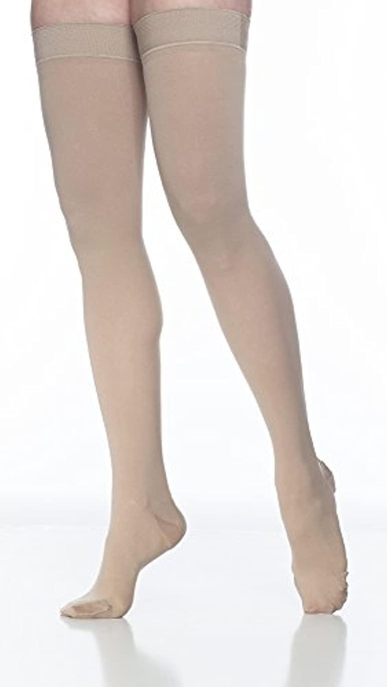 子供達異常時々Sigvaris Access 972NSSW66 20-30 mmHg Womens Closed Toe Thigh Highs, Crispa, Small and Short by Sigvaris