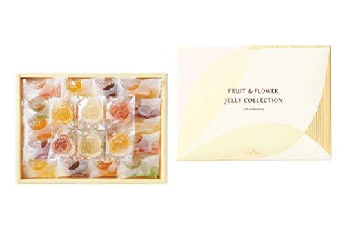 彩果の宝石 FF25 フルーツ&フラワーゼリーコレクション(54個入り) 国産もち米あられ1個セット