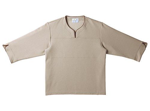 キラク 検診用シャツ S CR841-28-S 検査衣/患者衣 取寄品