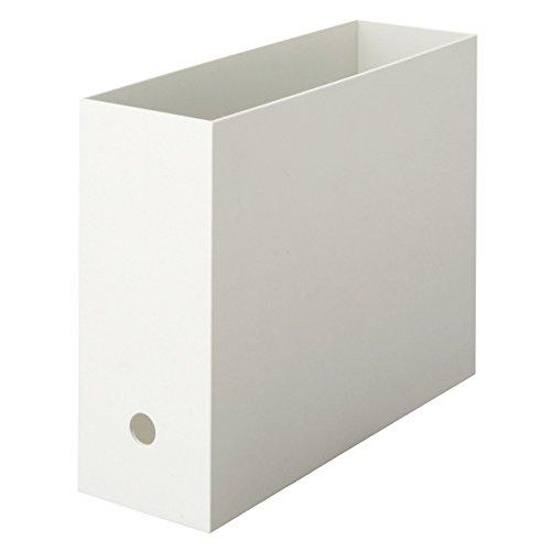 無印良品 ポリプロピレンファイルボックス・スタンダードタイプ A4・ホワイト...