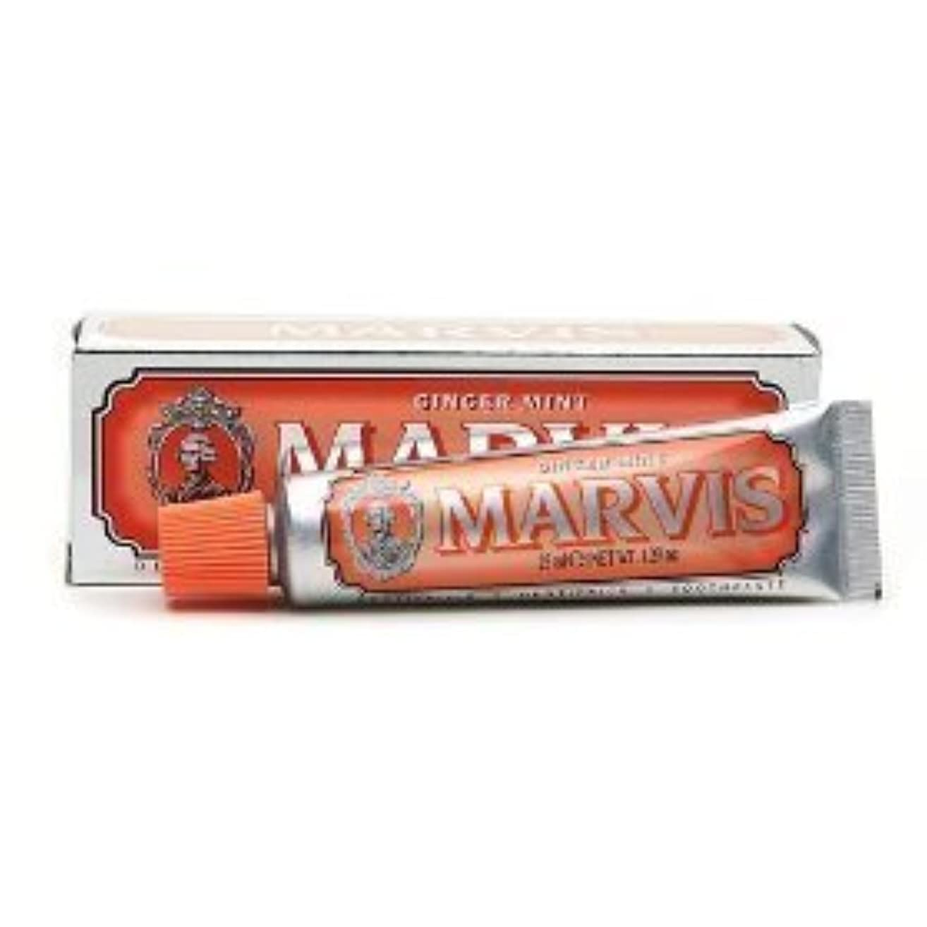 とんでもない消費者垂直Marvis Toothpaste Ginger Mint Travel Size by Marvis [並行輸入品]