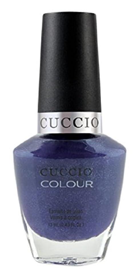 差別的メンバー感度Cuccio Colour Gloss Lacquer - Purple Rain in Spain - 0.43oz / 13ml