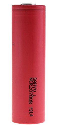 SANYO (Panasonic) NCR20700B リチウムイオンバッテリー 4250mAh