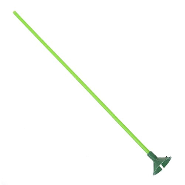 Outfun パーティー用品 緑の気球スティックw多色なカップ 100セット