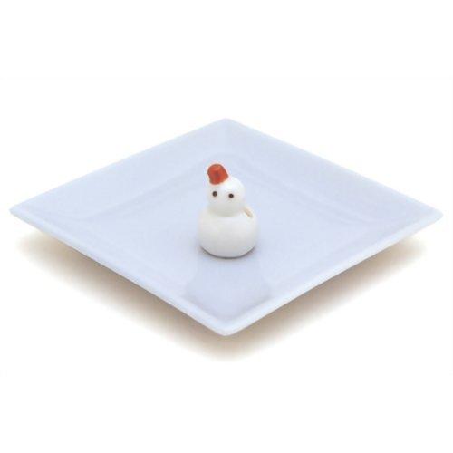 陶器香皿&雪ダルマ香立