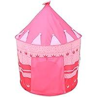 赤ちゃんの遊び場フロアリング子供のユートテントの幼児玩具のゲームの家赤ちゃんの城のパズル海のボールプールの部屋の分割 (色 : Pink)