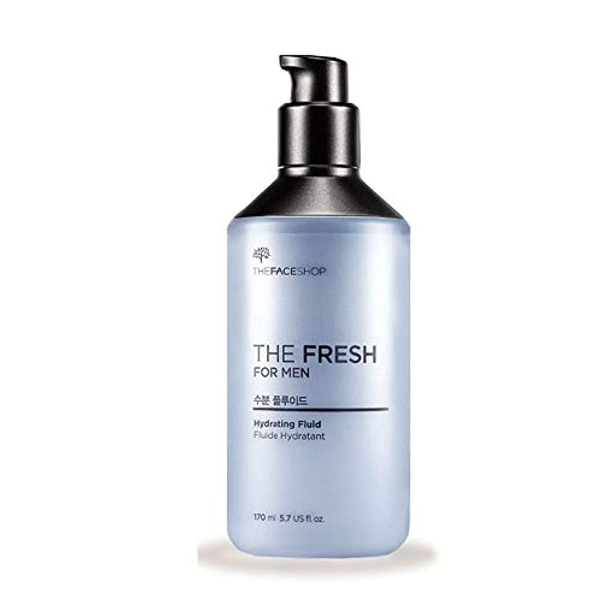 屋内で鷲着服ザ?フェイスショップザ?フレッシュフォーマン水分?プルルイドゥ170mlのメンズコスメ、The Face Shop The Fresh For Men Hydrating Fluid 170ml Men's Cosmetics...